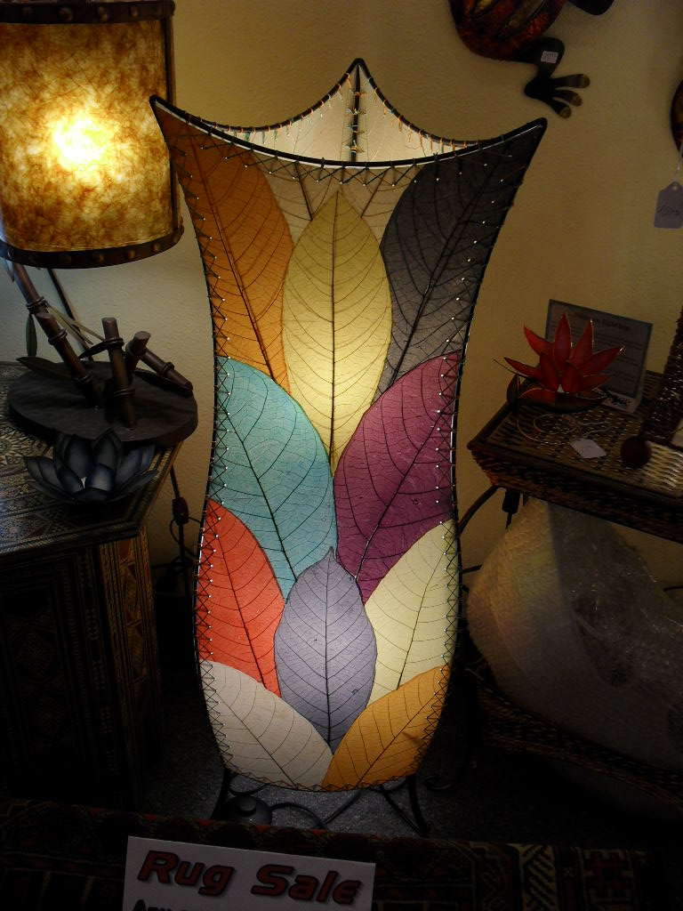 Ala kalika rugs and lamps bring an exotic and colorful touch into your home with this lamp audiocablefo